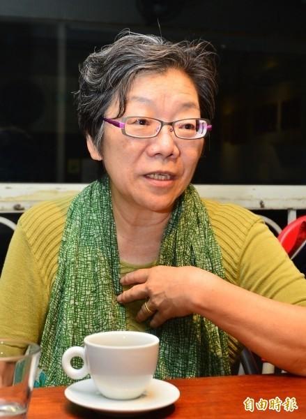 輔仁大學心理學系教授夏林清遭輔大停聘1年。(資料照,記者王藝菘攝)