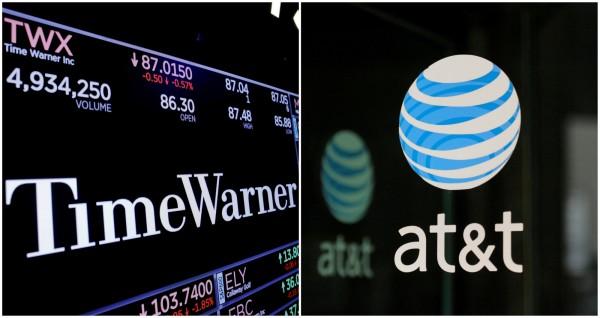 美國反壟斷法院批准,通訊巨擘AT&T得以850億美元收購時代華納(Time Warner)。(路透資料照)