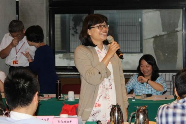 檢察官莊珂惠昔日同事說,她在公事上要求嚴格、完美,私下隨和親切。(取自彰化地檢署臉書)