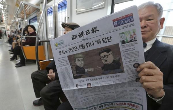 「川金會」引發全球媒體爭相報導,但北韓卻噤默無聲,專家表示這只是川普單方面的宣布,握有核武的平壤現在有備無患,並為自己留有轉圜的空間。(美聯社)