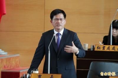 台中市長林佳龍「民調祖師爺」引發爭議。(資料照,記者黃鐘山攝)