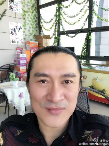 黃安先前大動作舉發「台獨藝人」,引發台灣民眾公憤。(圖擷取自黃安微博)