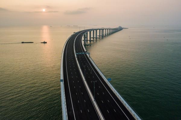 港珠澳大橋。(法新社資料照)