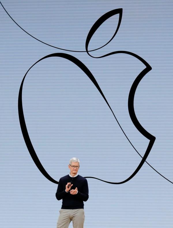 蘋果在內部備忘錄警告員工,洩密可能會面臨法律問題。(資料照,路透)