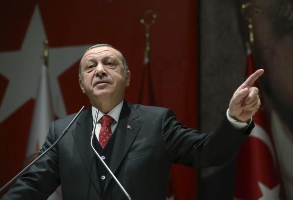 土國總統艾多根近日對去年涉嫌政變的216人發出羈押令。(美聯社)