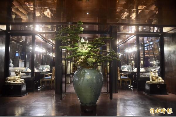 台北君品酒店頤宮中餐廳摘下米其林三星。(資料照)