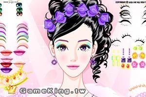 女孩們最愛的化妝遊戲。(圖擷取自Dcard)
