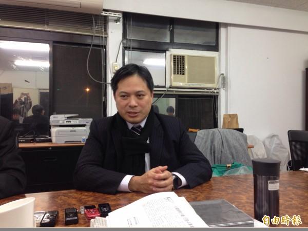 經濟部工業局長吳明機。(記者黃佩君攝)