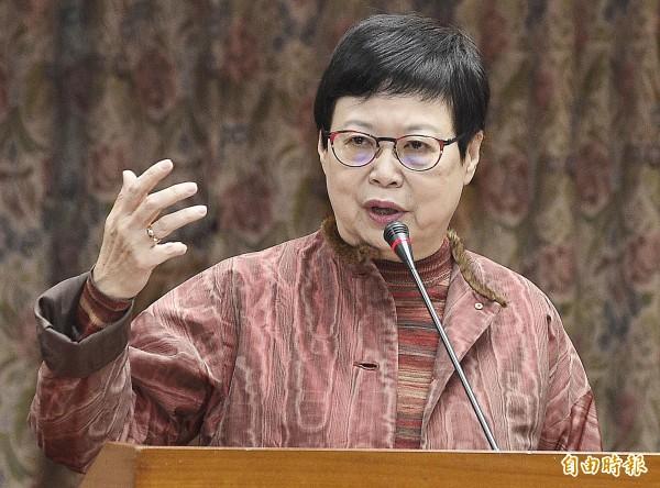 林正儀強調,目前已經請馮明珠儘速回台,一切依法行政。圖為馮明珠。(資料照,記者陳志曲攝)