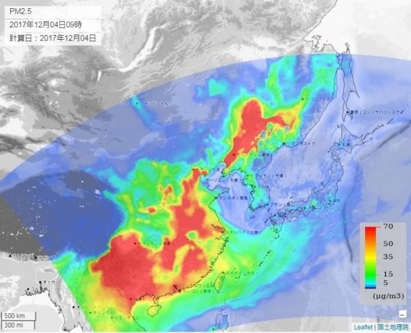 中國霧霾有多嚴重?三張圖讓你了解