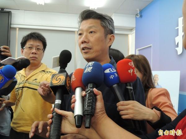 國民黨高雄市長候選人韓國瑜發言人侯亞寧(見圖)證實,曾代表韓國瑜簽署平安夜承諾書、且附有但書。(資料照,記者王榮祥攝)