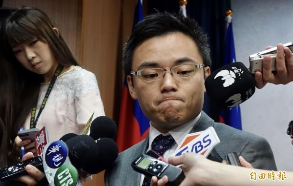 国民党发言人洪孟楷(见图)回应表示,党产会从头至今就是想要清算斗争国民党,先放话八月底要认定,越来越像是流氓行径。(资料照,记者简荣丰摄)