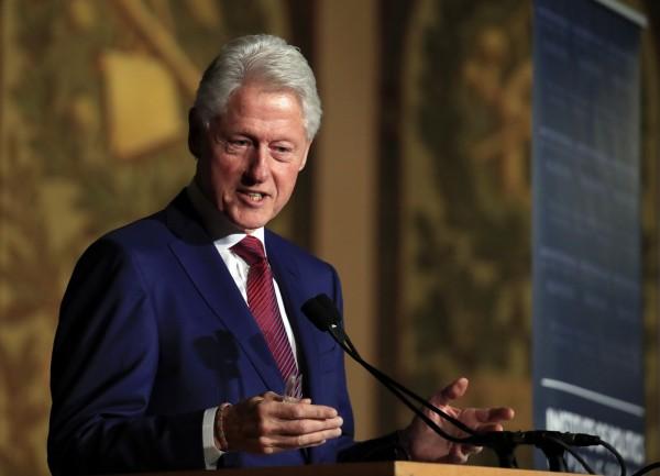 美國前總統柯林頓再度傳出性醜聞。(美聯社)