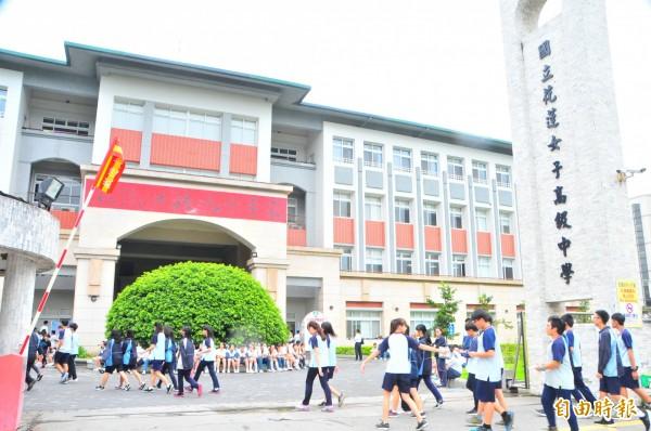 國中教育會考今天登場。(資料照,記者花孟璟攝)