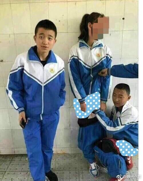 3名中學男生集體霸凌一中學女生。(圖取自海峽網)