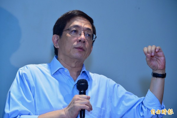 台灣大學校長當選人管中閔。(資料照)