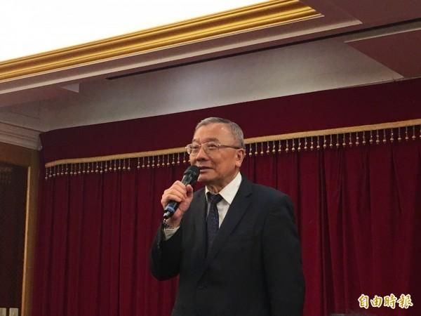 中油董事長戴謙(見圖)表示,國際油價攀高主要原因是因為發生敘利亞戰事,導致油價拉高,是屬於心理預期狀況。(資料照)
