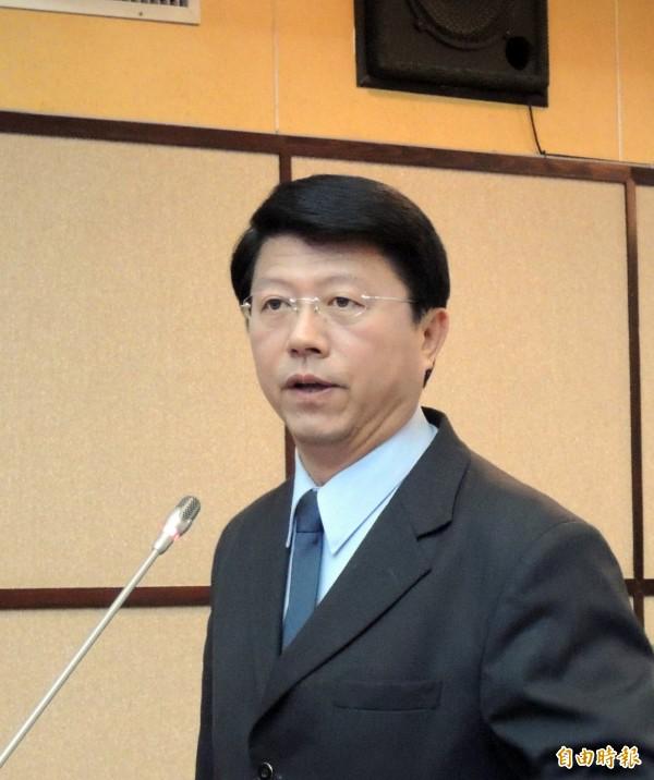 先前在台南市議會曾和賴清德多次交手的謝龍介指出,他提醒賴清德「好朋友要自求多福」,更表示無法質詢賴清德「感到相當可惜」。(資料照,記者蔡文居攝)