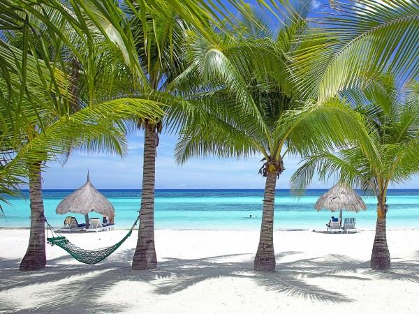 宿霧島及附近小島則是以美麗沙灘、私人空間、餐廳與購物商場著稱。(圖擷取自cntraveler)