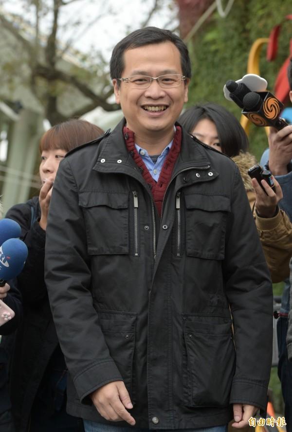 羅智強今宣布支持另名有意參選北市長的前立委丁守中,並出任丁守中的青年及網路總策畫。(資料照,記者張嘉明攝)