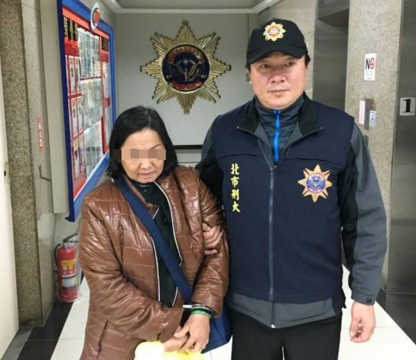 第5度入境台灣作案的越南籍扒手林氏恵,因每次來台都「滿載而歸」,所以已將台灣作為長駐地點。(記者劉慶侯翻攝)
