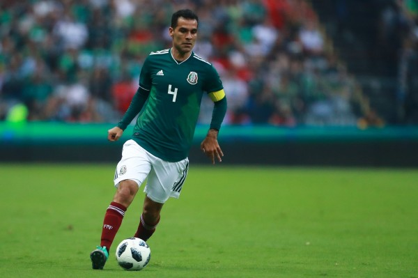 墨西哥足球国家队的五朝元老马奎斯,被美国当局指控涉嫌替一位墨西哥毒枭洗钱。(法新社)