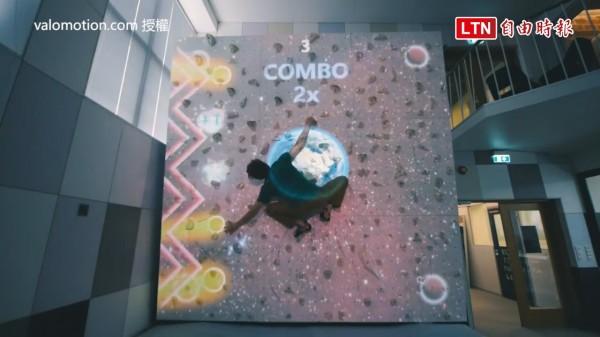 Valo Climb是一款將遊戲與攀岩結合的系統。(授權:Valo Motion)