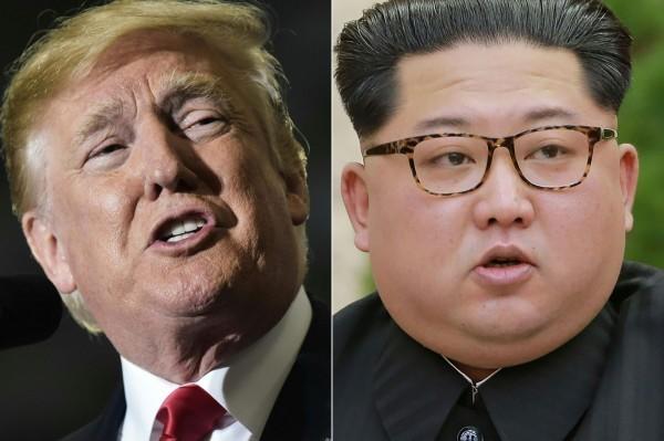 北韓今天突然宣布,因為不滿美國與南韓舉行聯合軍演挑釁,臨時取消今天舉行的兩韓高層會議,並揚言在今天取消北韓領導人金正恩與美國總統川普下月舉行的高峰會。(法新社)