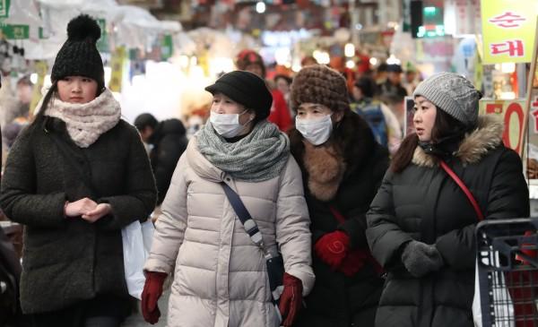 中國祭出「限韓令」報復,企圖全面抵制赴韓旅遊、娛樂、文化等產業。(歐新社)