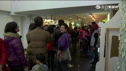 不少民眾排隊等著購買。(圖擷自三立新聞網)