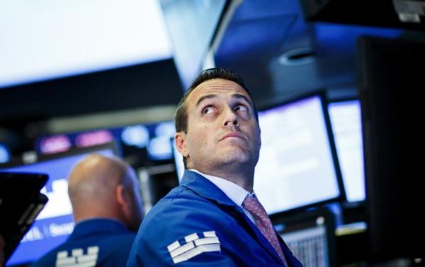 受貿易戰影響,美股週三重挫。(歐新社)