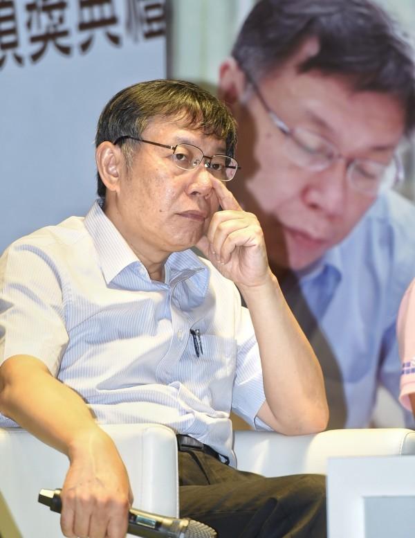 台北市長柯文哲近來陸續傳出負面新聞,對此吳祥輝認為柯文哲崩盤的趨勢已經形成。(資料照)