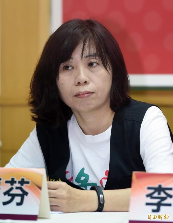 綠社盟立委候選人張麗芬表示,應該要立法禁止派遣,避免讓低工資和不穩定就業問題更惡化。(資料照,記者羅沛德攝)