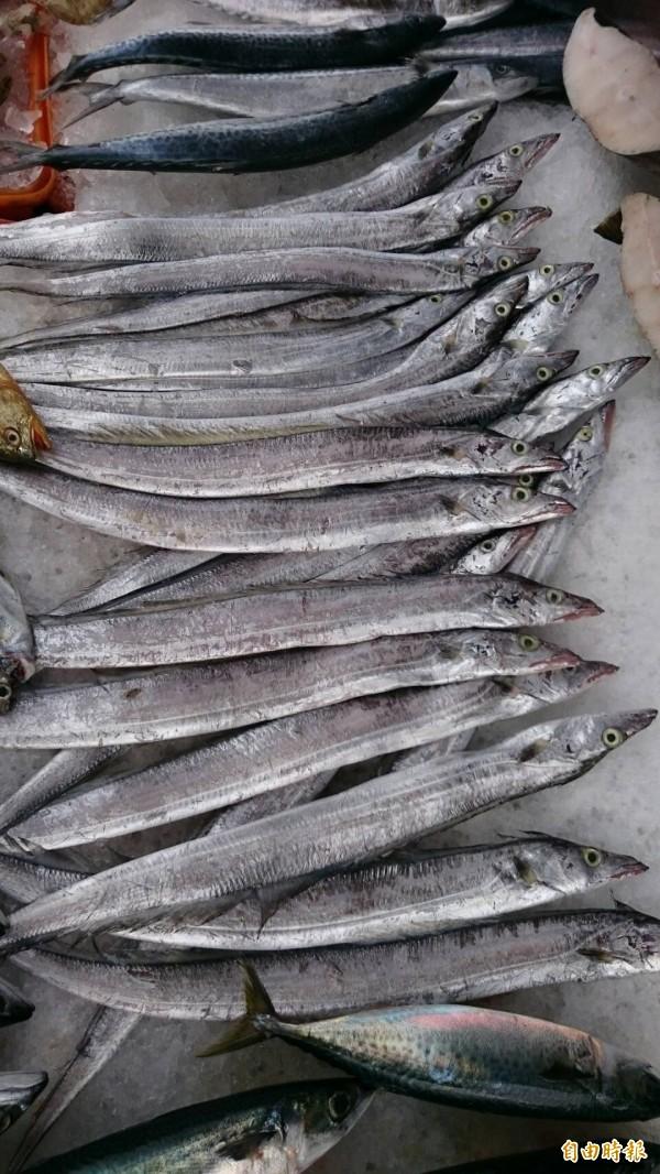 不少韓國人愛吃白帶魚,傳出韓國甚至向我國提出在我國經濟海域購買白帶魚魚權。(資料照)