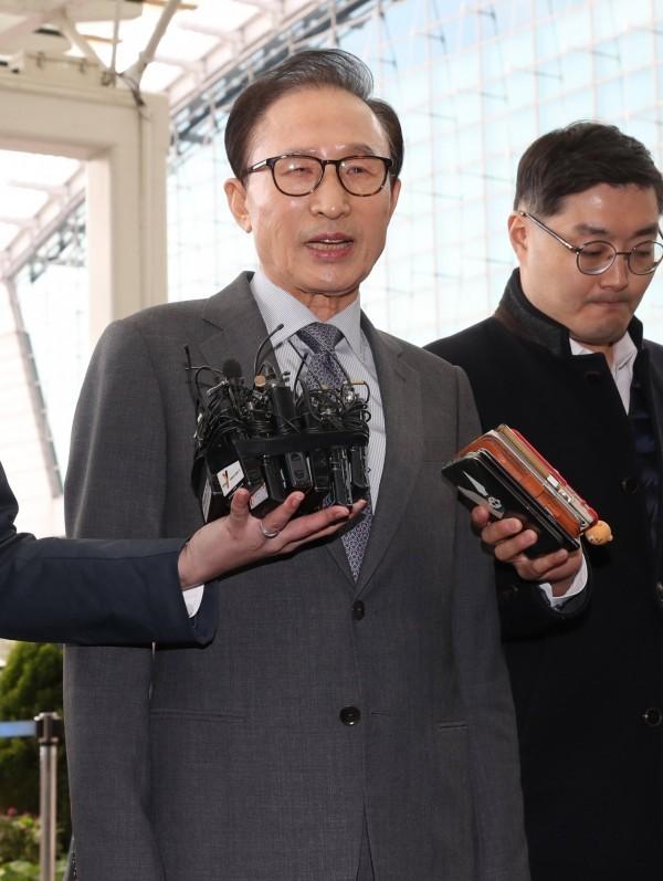 南韓前總統李明博涉貪 傳平昌冬奧後將被檢方傳喚!