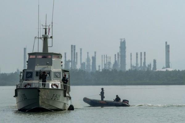 印尼海軍演習傳意外,造成4死8傷。圖為印尼海軍(法新社)