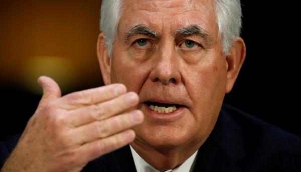 美國國務卿提名人提勒森表示,中國在南海造島建礁是非法行為,處理北韓問題上也僅是空洞承諾。(路透)