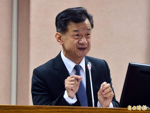 法務部長邱太三今指出,這次李永得遭盤查事件中,警方在法制面、執行面都沒有問題。(資料照,記者王藝菘攝)
