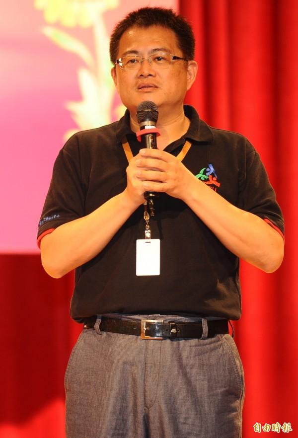 全國教師工會總聯合會理事長張旭政說,目前已有50個民間團體加入聲援,風雨無阻在3月7日上凱道怒吼。(資料照,記者張嘉明攝)