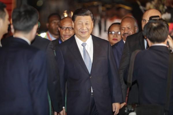 中国官员仅让允许央视采访,引起各国媒体不满。(欧新社)