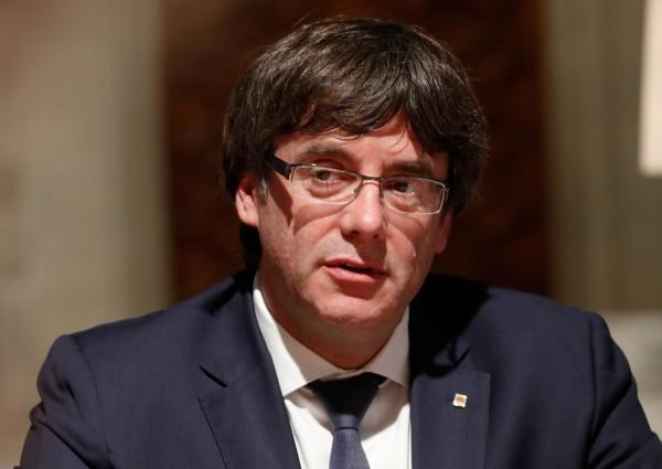 西班牙加泰隆尼亞自治區主席普伊格蒙特週二將向區議會發表談話,國際關注這位獨派領袖屆時是否會片面宣布獨立。(路透)
