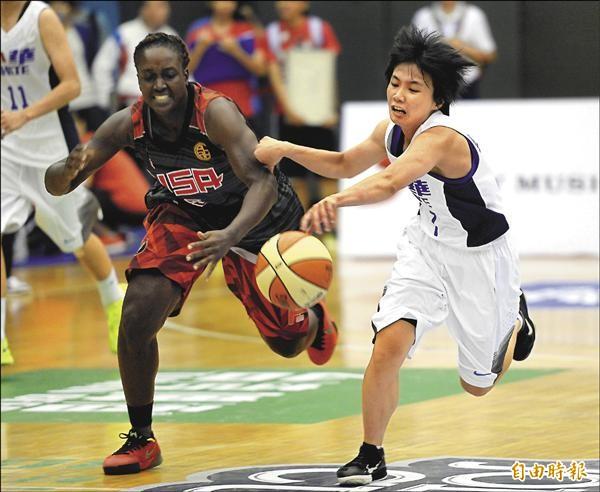 籃板大輸29個 台灣白2連敗