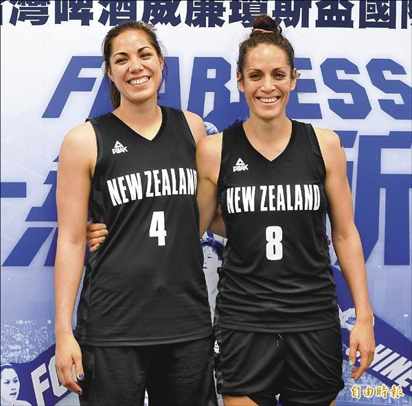 紐西蘭姊妹花 一家9口6籃將