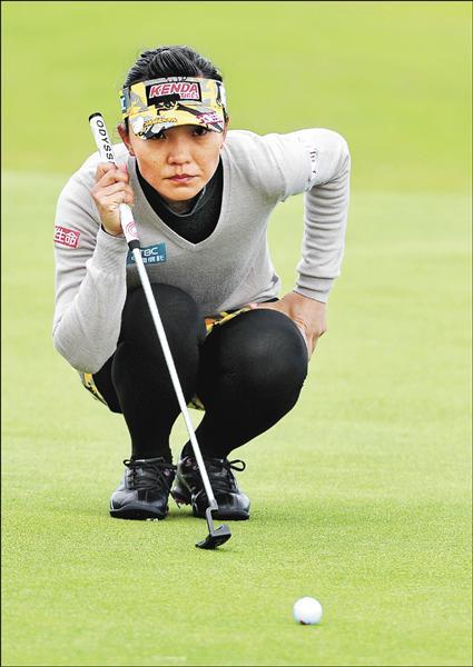 英國女子公開賽》盧曉晴後繼無力 爭冠無望