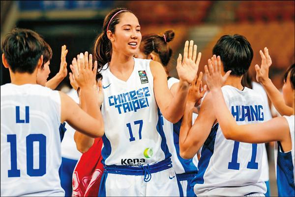 亞洲女籃錦標賽/壓著印度打 台妹開紅盤