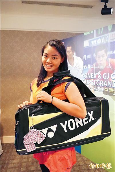 台北羽球大獎賽 李佳馨要當女版瓦林卡
