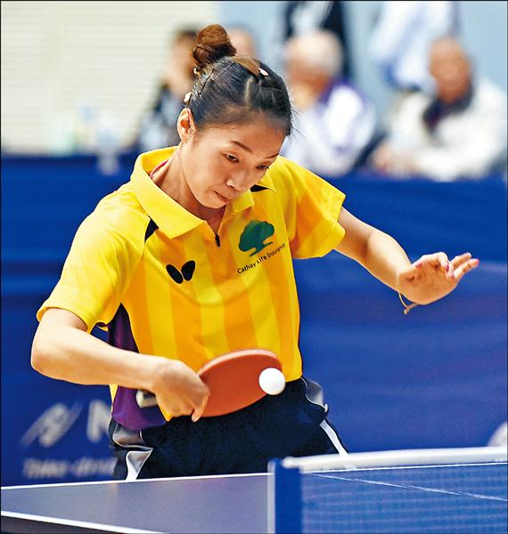 全國桌球錦標賽 江宏傑六度稱王