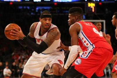 NBA》甜瓜歸隊就加班 尼克2度延長險勝七六人(影音)