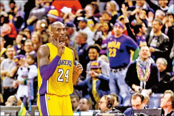 Kobe連3戰爆發 自己也納悶
