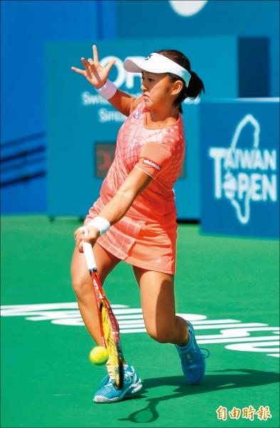 《台灣女網公開賽》單打冠軍戰 大威對決土居